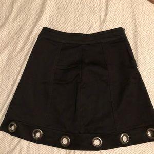 Black Material Girl Skirt